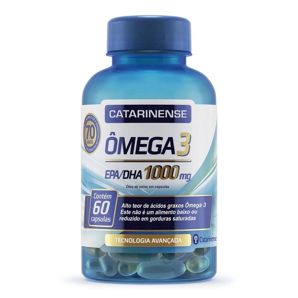 ômega 3 1000mg 60 cápsulas - Catarinense