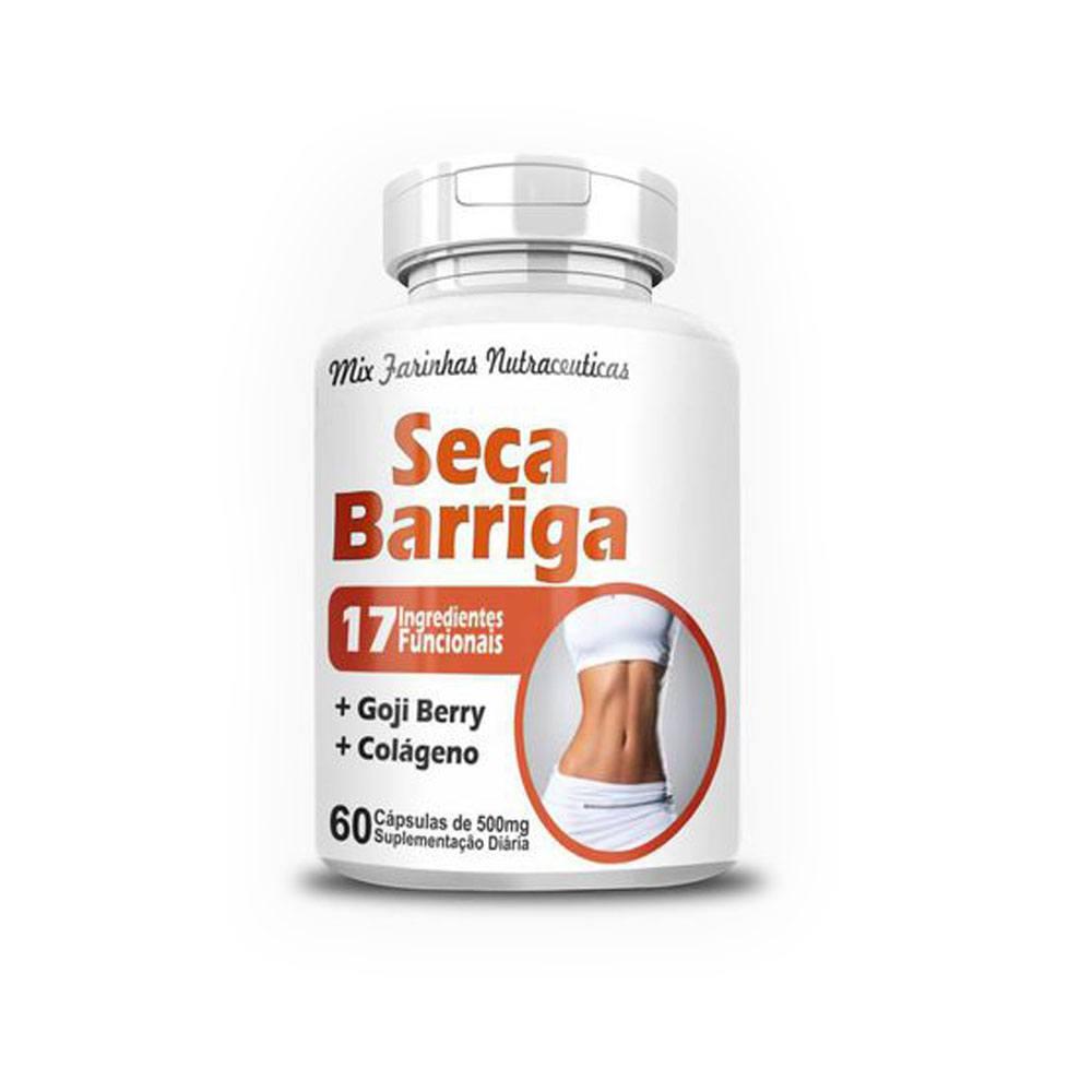 Seca Barriga 500mg 60 cápsulas 4 Elementos