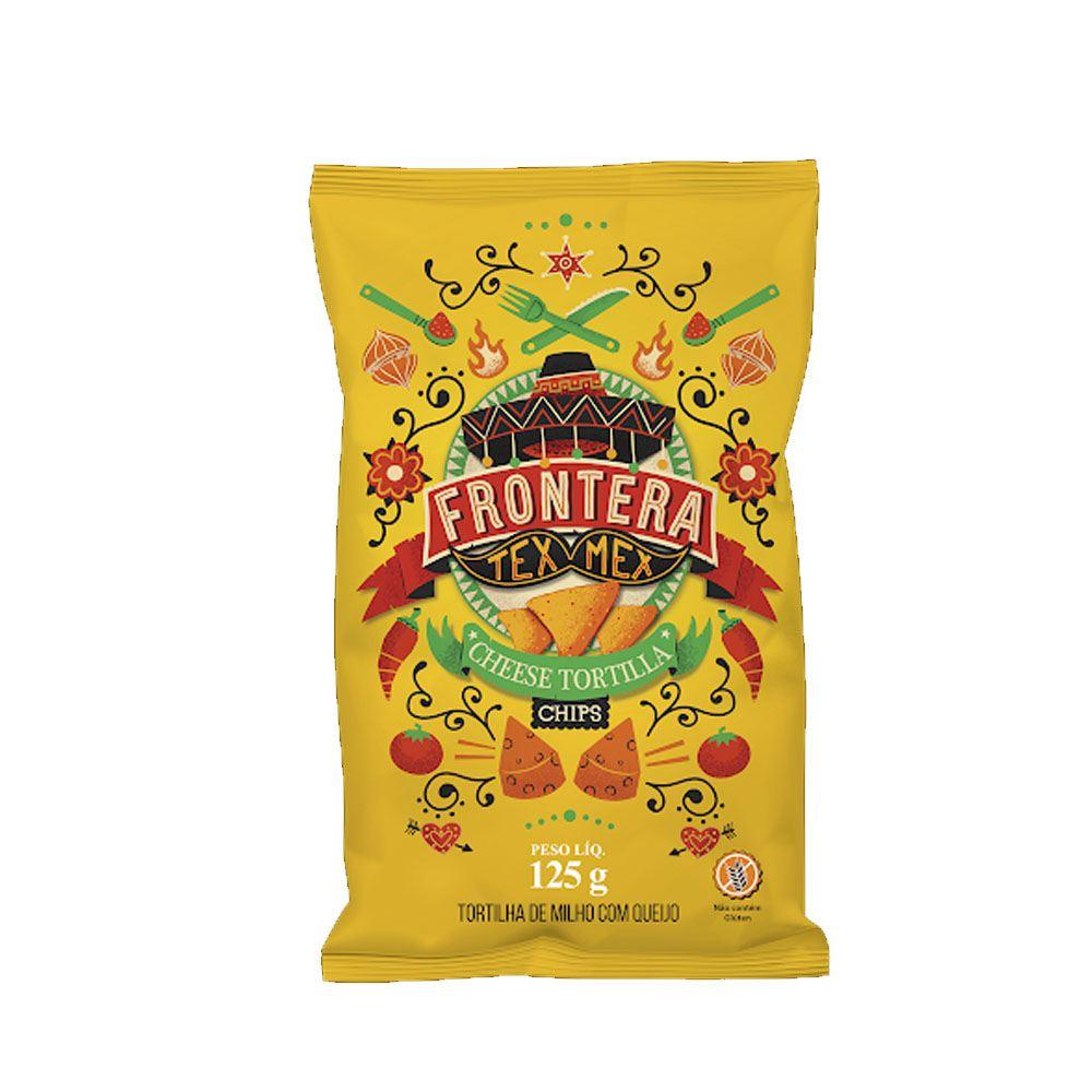Tortilla Chips sabor queijo Tex-Mex Frontera 125gr