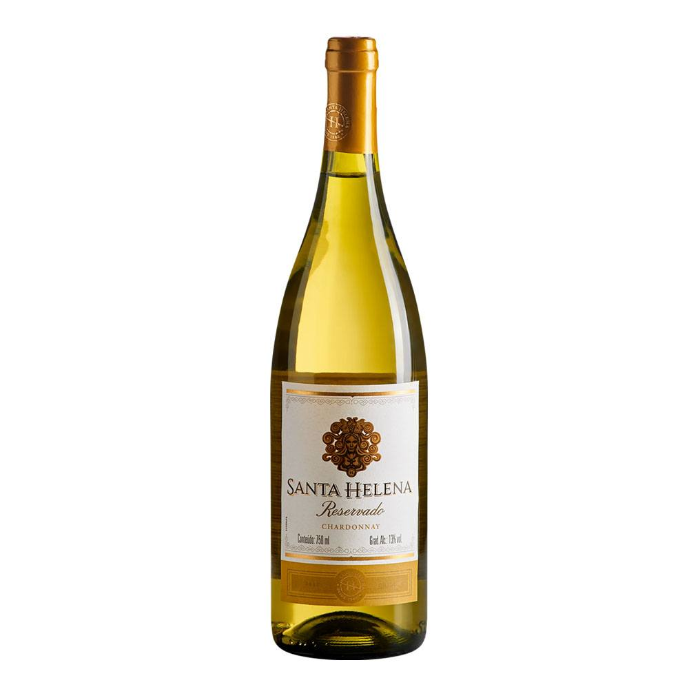 Vinho Branco Chardonnay Santa Helena Reservado 750ml