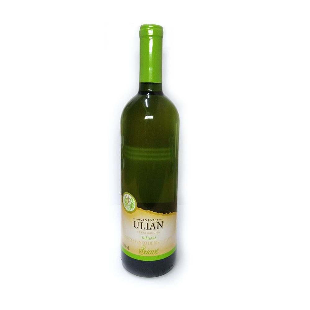 Vinho Branco de Mesa Suave Uva Nágara 750ml Ulian