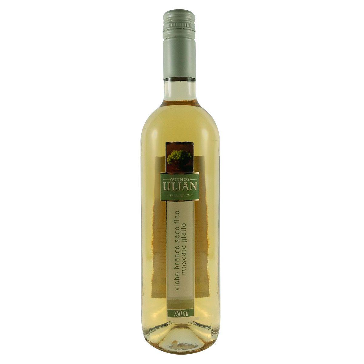 Vinho Branco Ulian Moscato Giallo 750ml