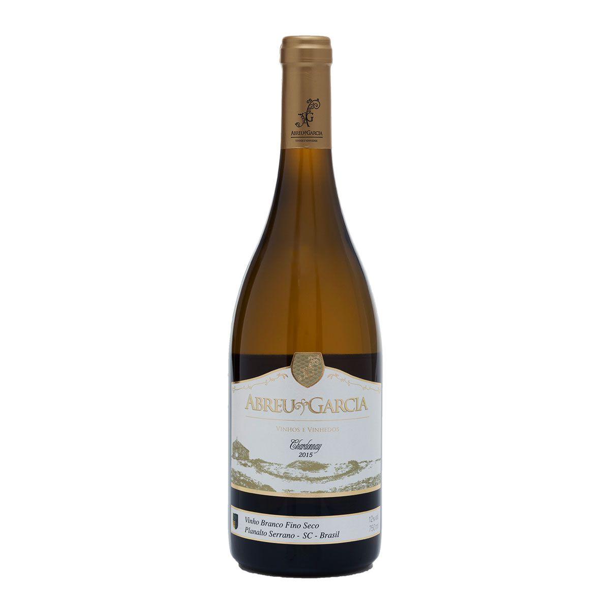 Vinho Fino Branco Seco Abreu Garcia Chardonnay 2017 750ml