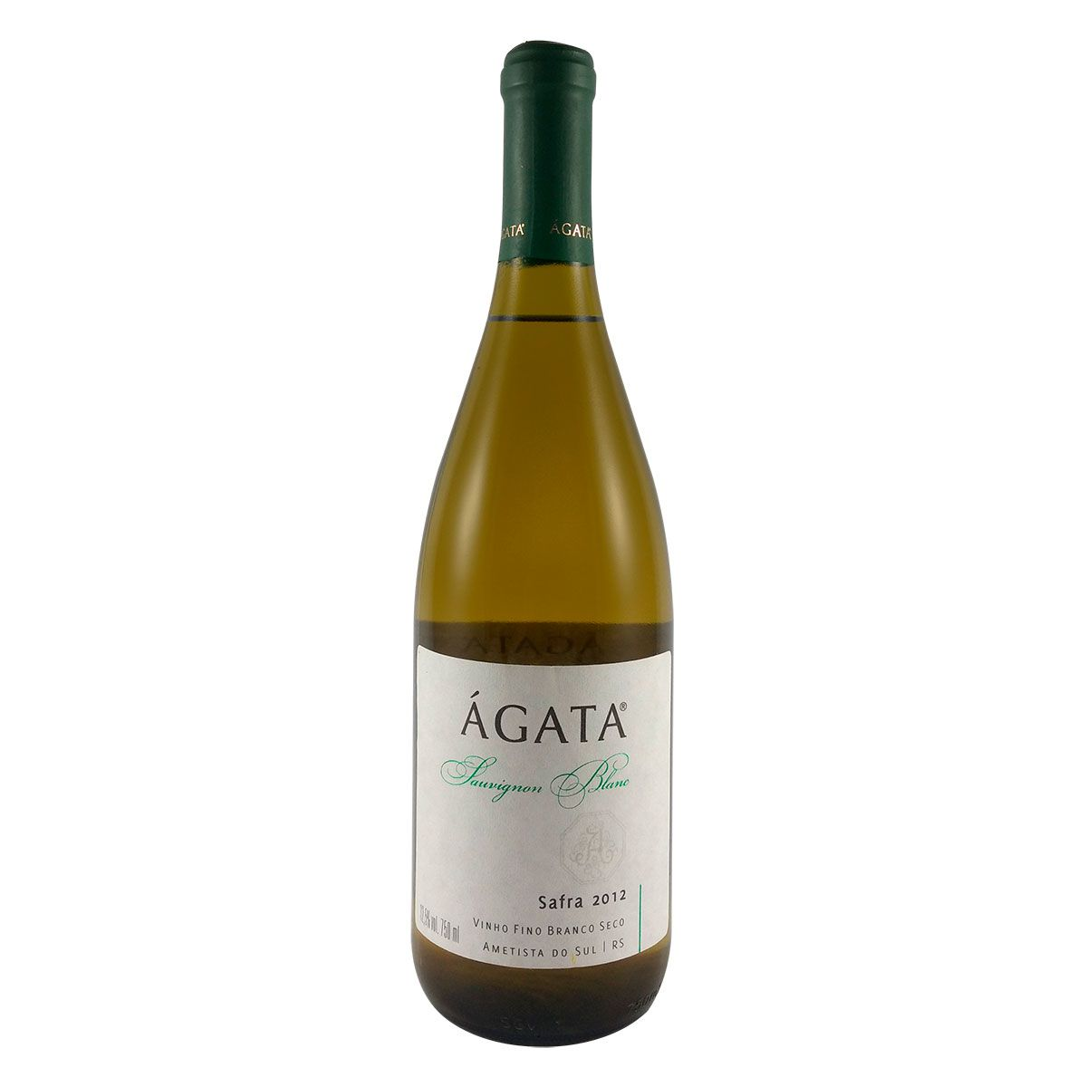 Vinho Fino Branco Seco Ágata Sauvignon Blanc 2012 750ml