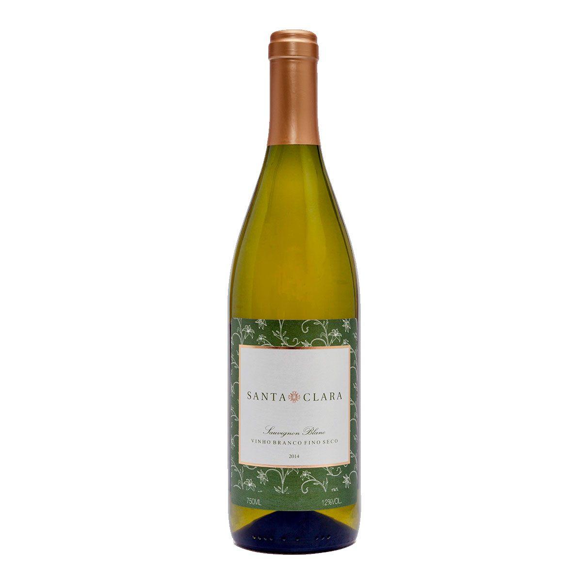 Vinho Fino Branco Seco Santa Clara Sauvignon Blanc 2014 750ml