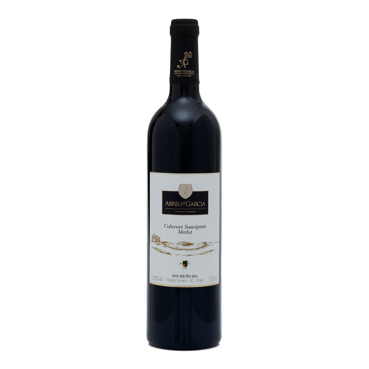 Vinho Fino Tinto Seco Abreu Garcia Cabernet Sauvignon/Merlot 2012 750ml