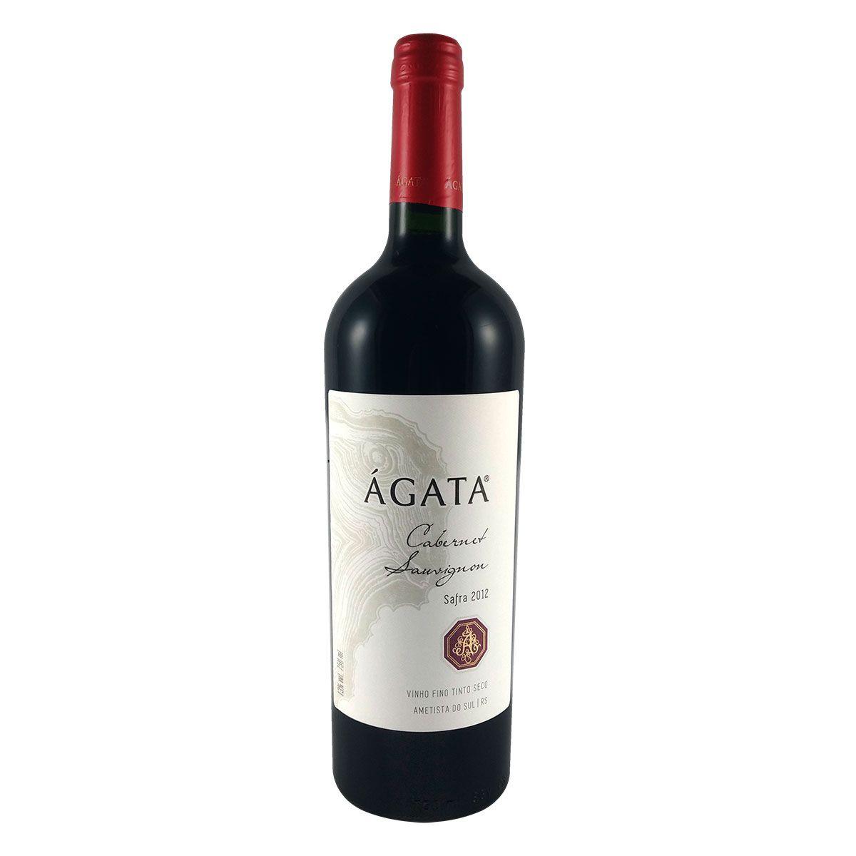 Vinho Fino Tinto Seco Ágata Cabernet Sauvignon 2012 750ml
