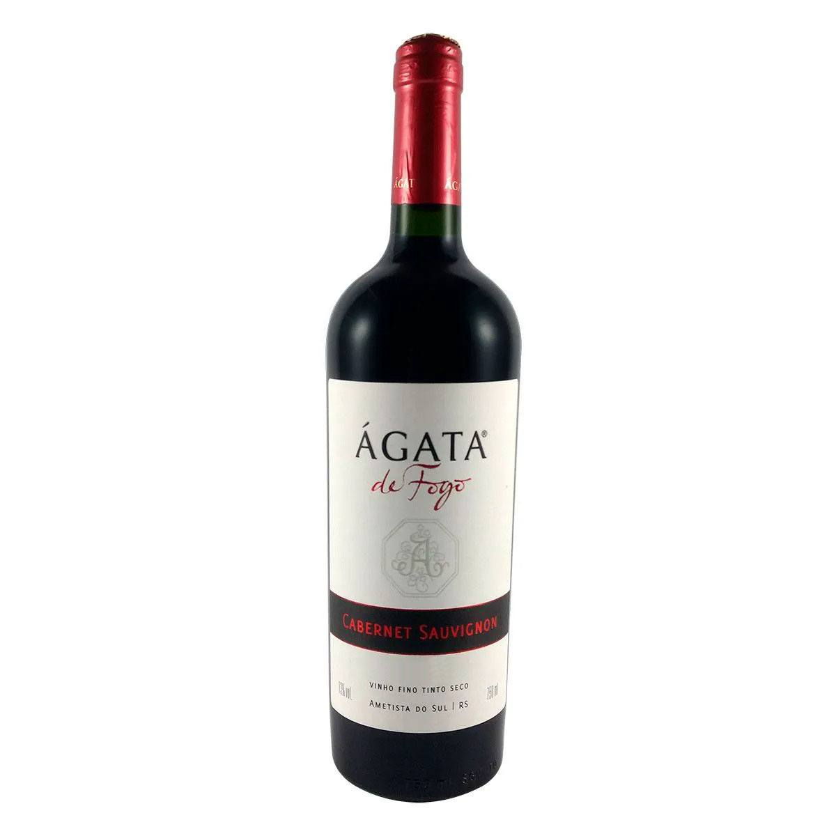 Vinho Fino Tinto Seco Ágata de Fogo Cabernet Sauvignon 750ml