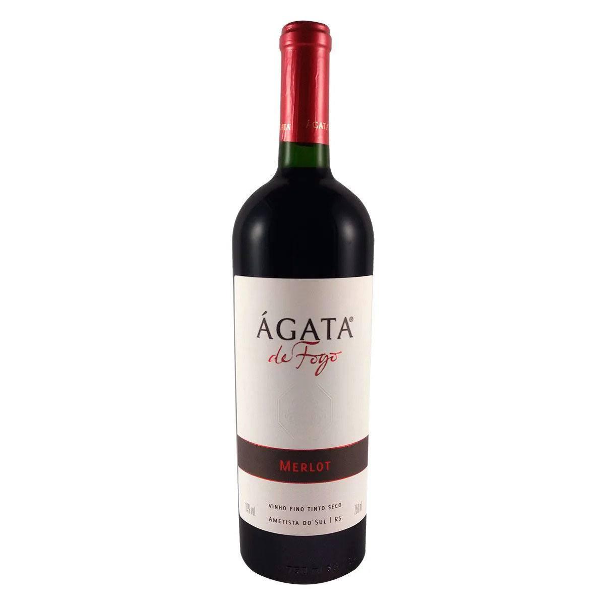 Vinho Fino Tinto Seco Ágata de Fogo Merlot 750ml
