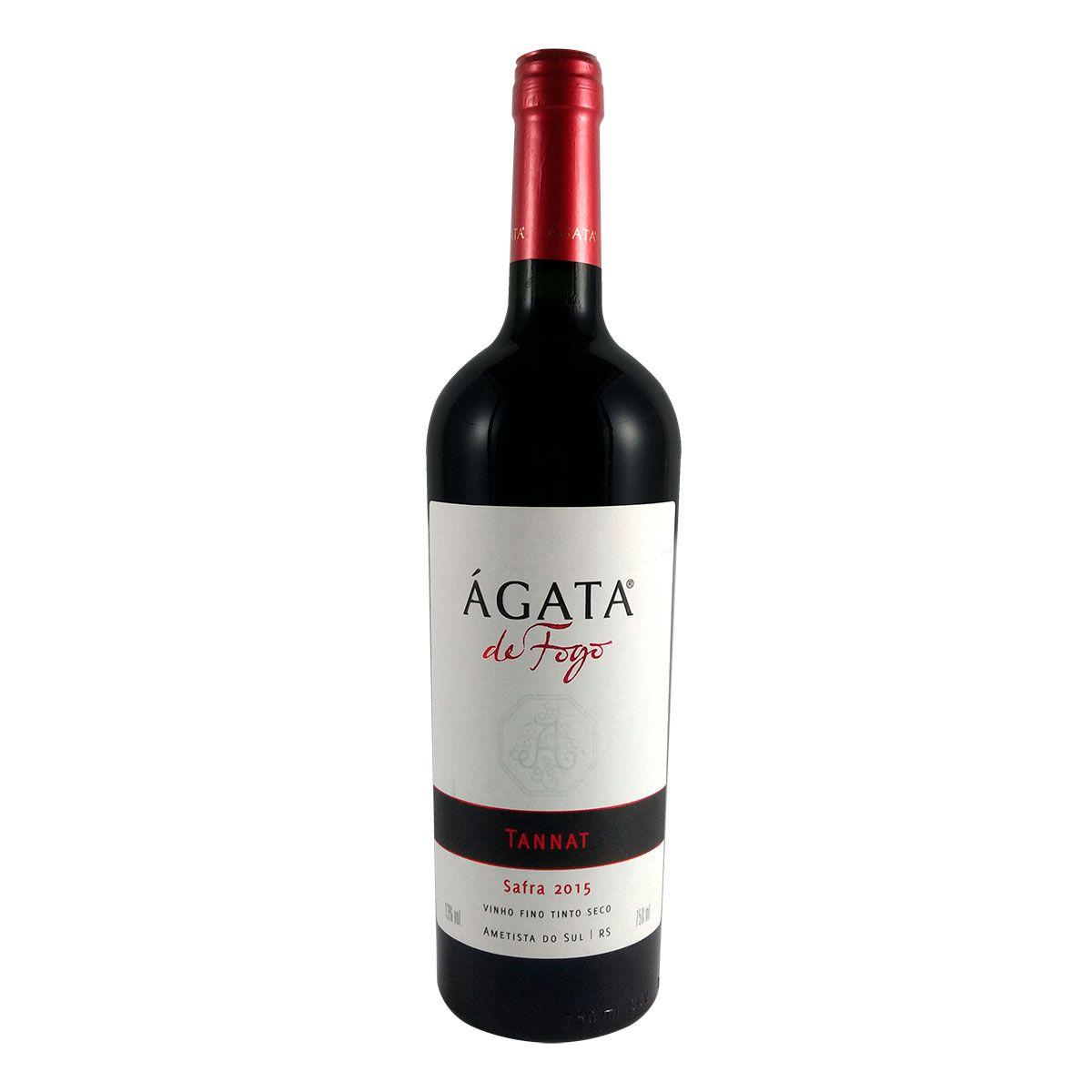 Vinho Fino Tinto Seco Ágata de Fogo Tannat 2015 750ml
