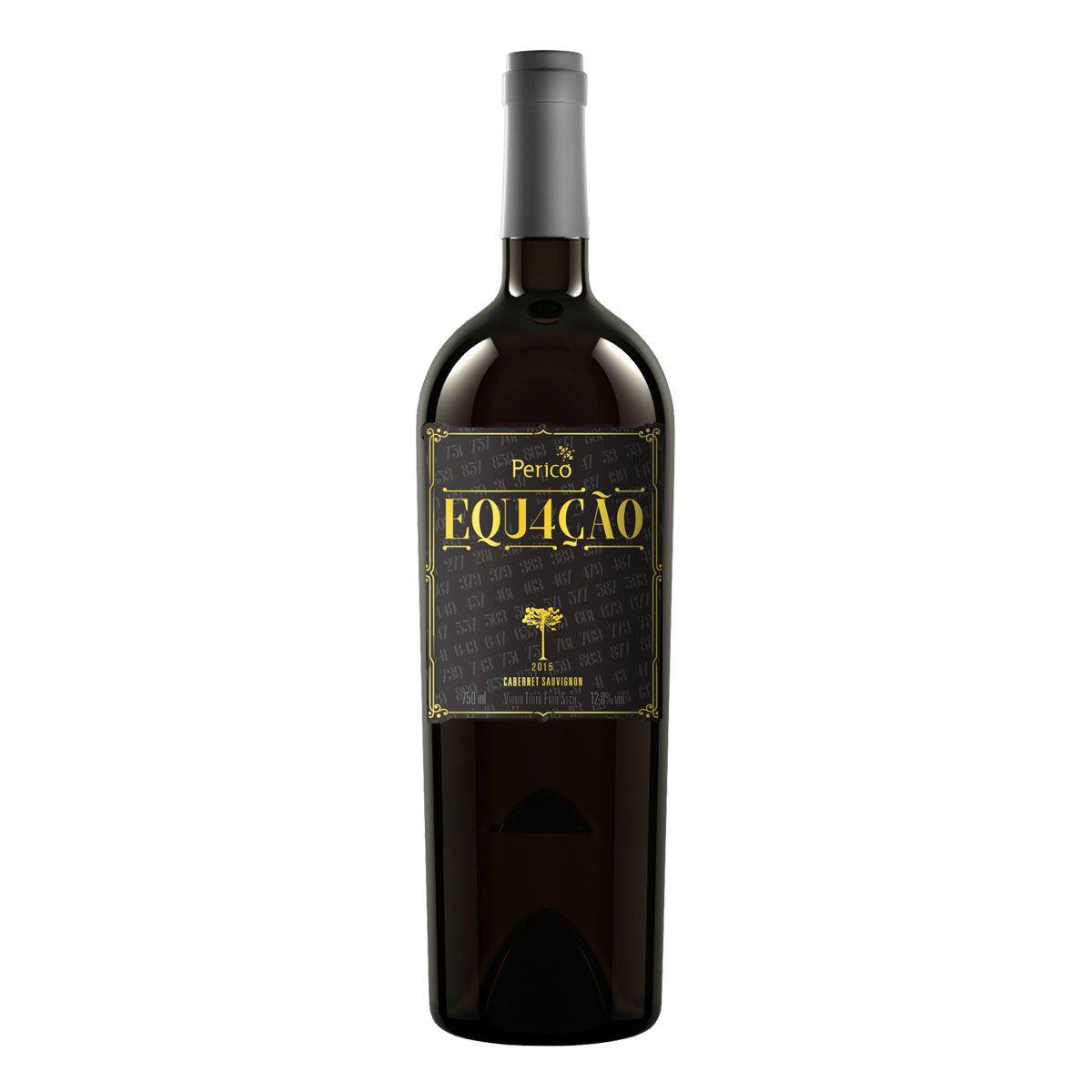Vinho Fino Tinto Seco Pericó Equação 2015 750ml