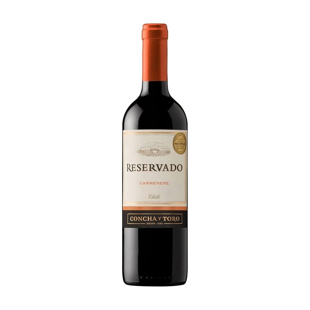 Vinho Tinto Chileno Concha y Toro 750ml Reservado Carménère