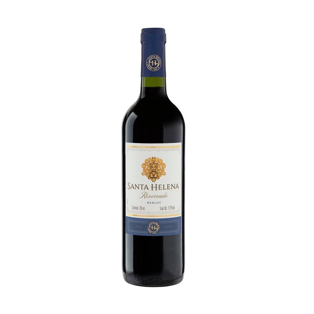 Vinho Tinto Chileno Santa Helena Rerservado Merlot 750ml