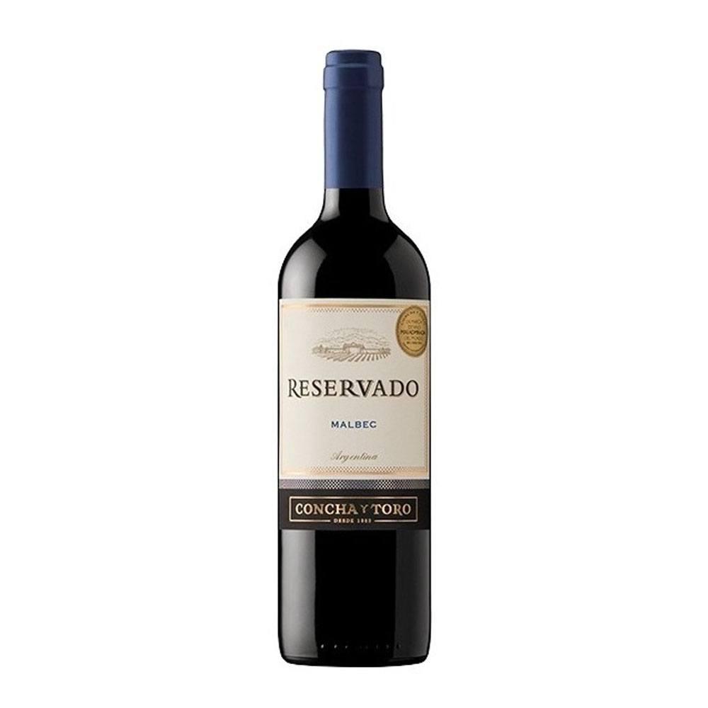 Vinho Tinto Concha y Toro Reservado Malbec Argentina 750ml
