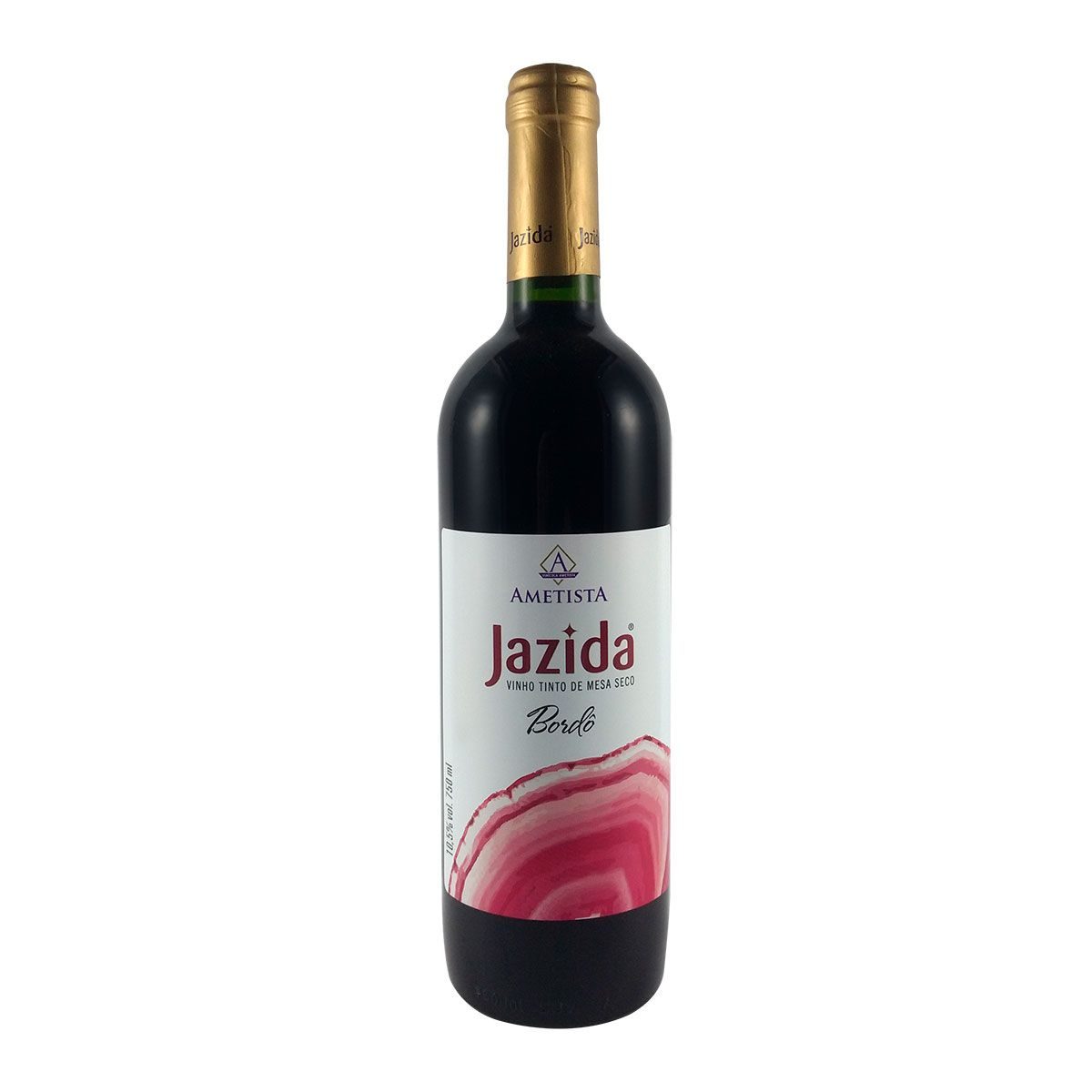 Vinho Tinto de Mesa Seco Jazida Bordô 750ml