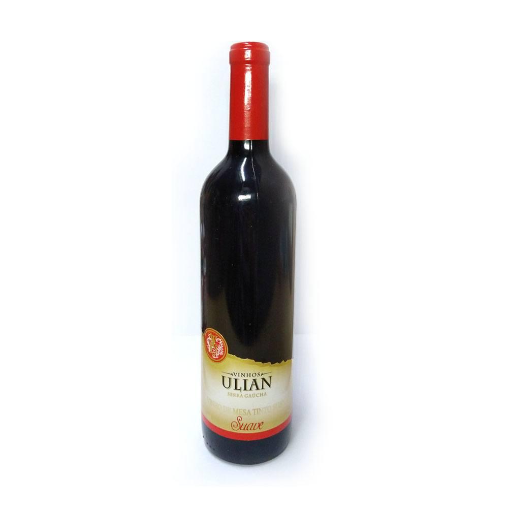 Vinho Tinto de Mesa Suave 750ml Ulian