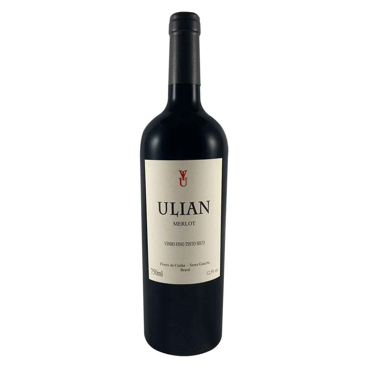 Vinho Tinto Fino Ulian Merlot 750ml