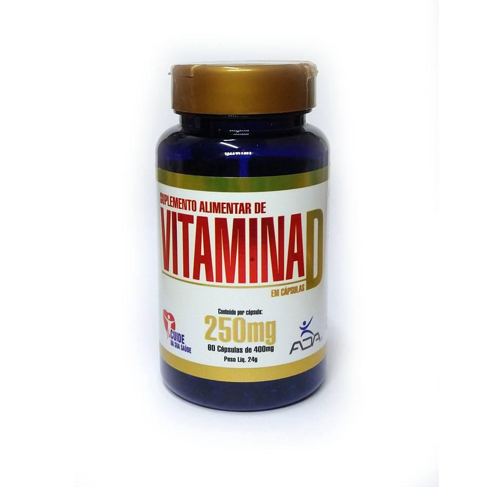 Vitamina D 60 cápsulas 400mg Ada