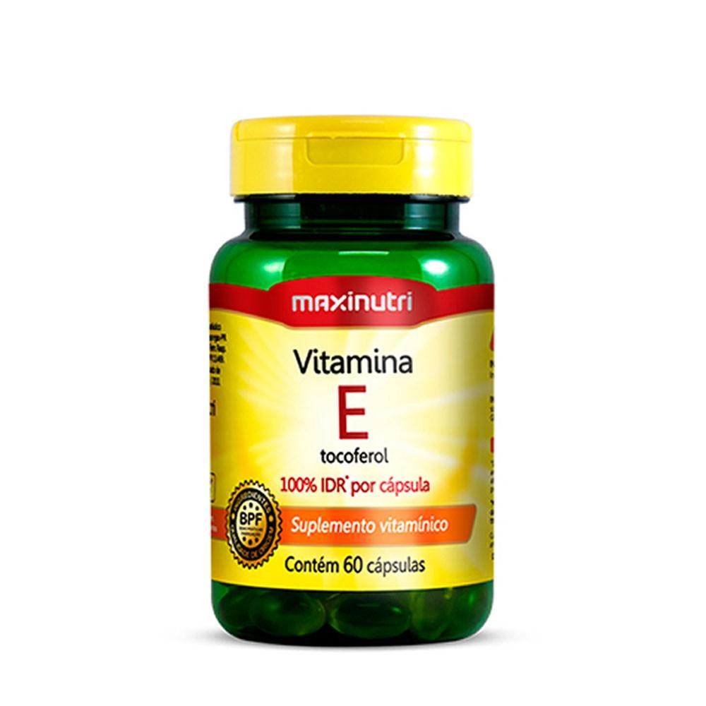 Vitamina E 10mg 100% IDR 60 cápsulas Maxinutri