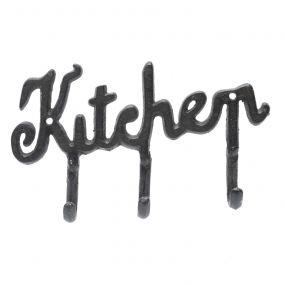 Cabideiro c/3 Ganchos Kitchen