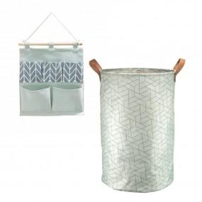 Kit Organizador com Cesto e Porta Objetos