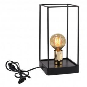 Luminária Abajur de Metal Preto