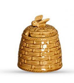 Porta Mel ou Açúcar em Cerâmica Bee - Scalla