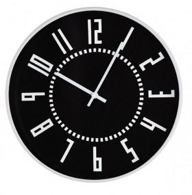 Relógio de Parede Preto e Branco