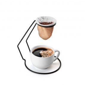 Suporte para Coador de Café Individual Preto