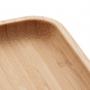 Bandeja de Bambu Prato Quadrado P - Lyor