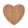 Bandeja de Bambu Prato Coração P - Lyor