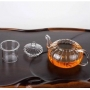Chaleira em Vidro Resistente ao Calor c/ Infusor de Chá 800 ml - Lyor
