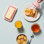 Kit Breakfast 4 Pçs Rosa - OU