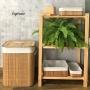 Kit Especial de Cestos em Bambu e Linho