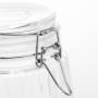 Pote de Vidro 1,5 L Hermético Porta Mantimentos Flip