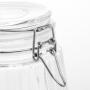 Pote de Vidro 1,8 L Hermético Porta Mantimentos Flip