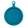 Travessa Redonda de Porcelana Azul
