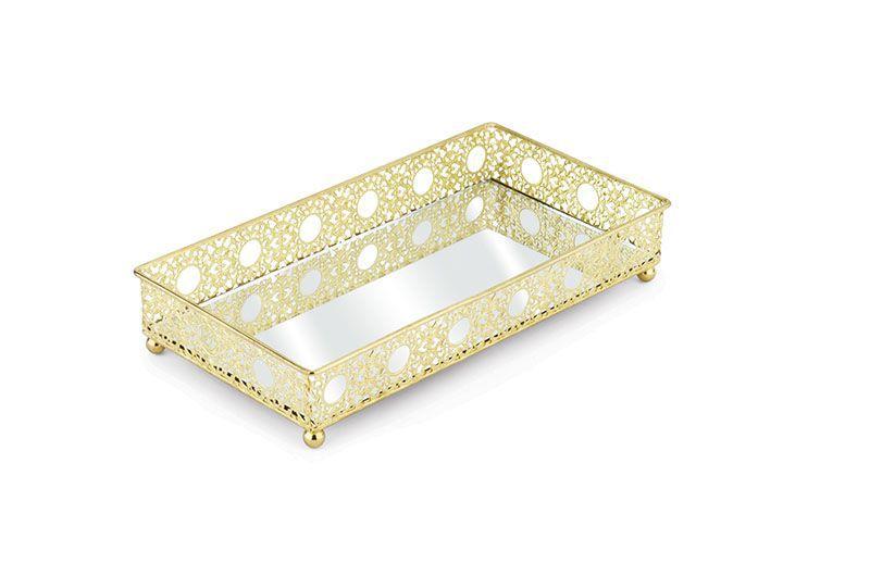 Bandeja Luxo Inglesa Ouro - Jolitex