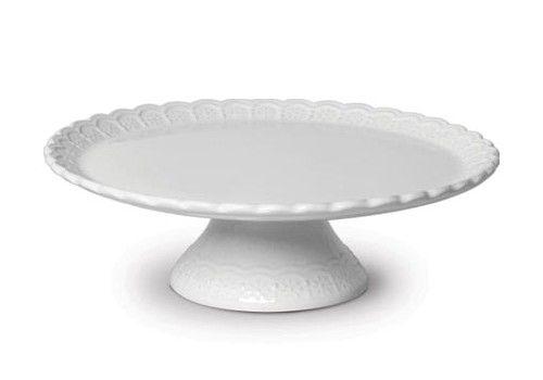 Boleira em Cerâmica Branca Nobre - Scalla