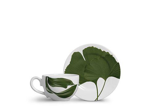 Conjunto c/6 Xícaras de Chá Folha - Scalla