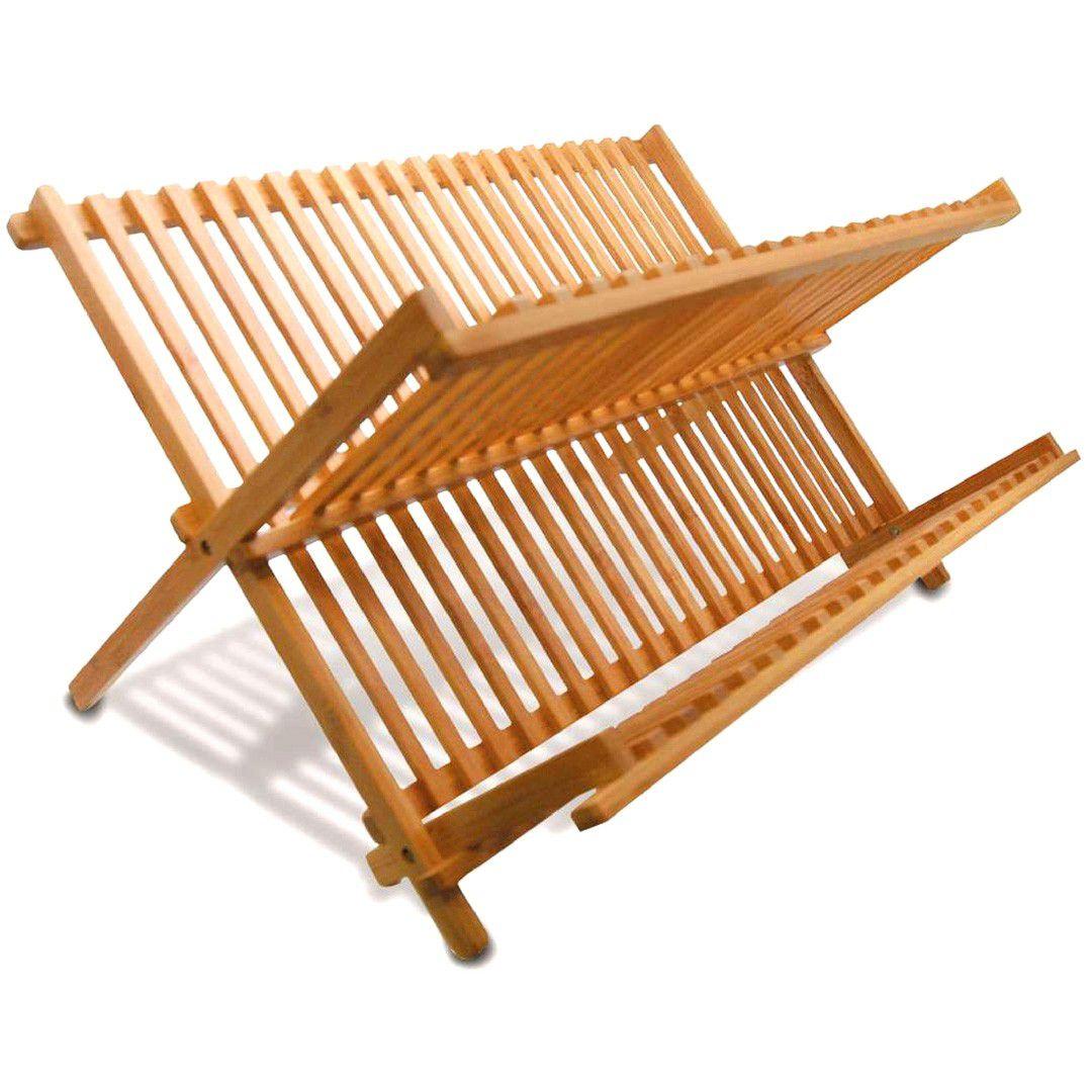 Escorredor de Louças Bambu Dobrável Tift Yoi