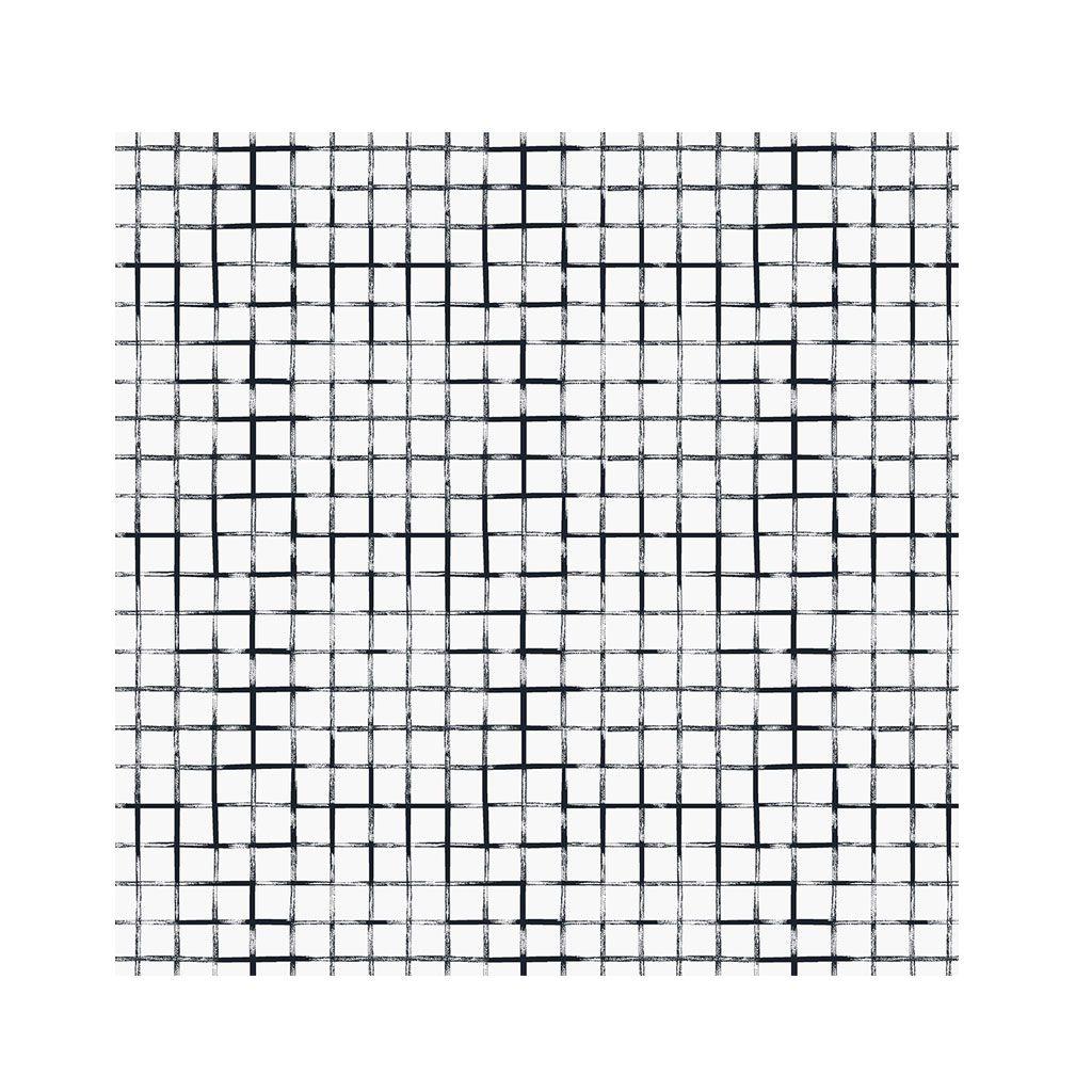 Jogo c/4 Guardanapos Tecido 40 x 40 cm Grid