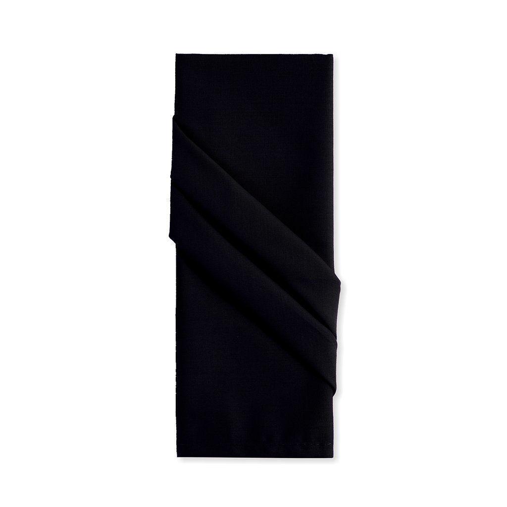 Jogo c/4 Guardanapos Tecido 40 x 40 cm Preto