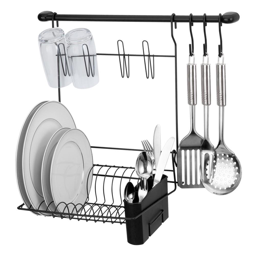Kit Cozinha Cook Home 8 Preto