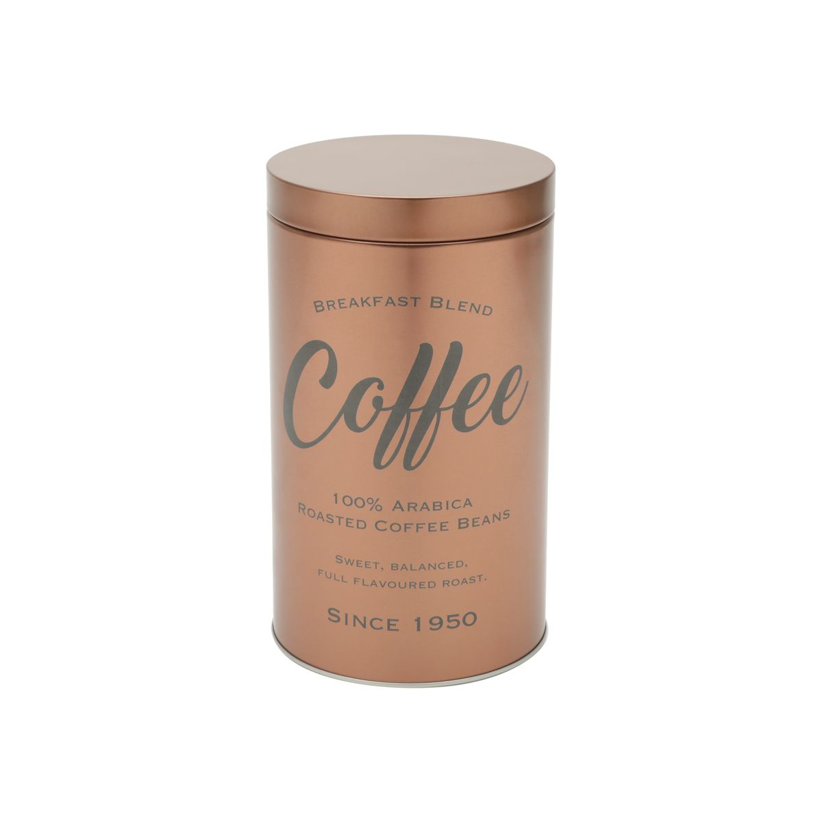 LATA METAL HERMÉTICA  COBRE COFFEE - URBAN