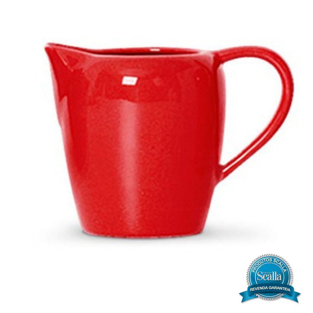 Leiteira Standard Vermelha 600 ml - Scalla