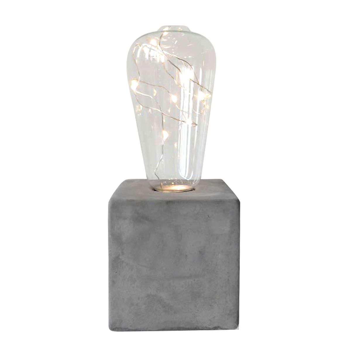 LUMINARIA LED BASE CONCRETO URBAN
