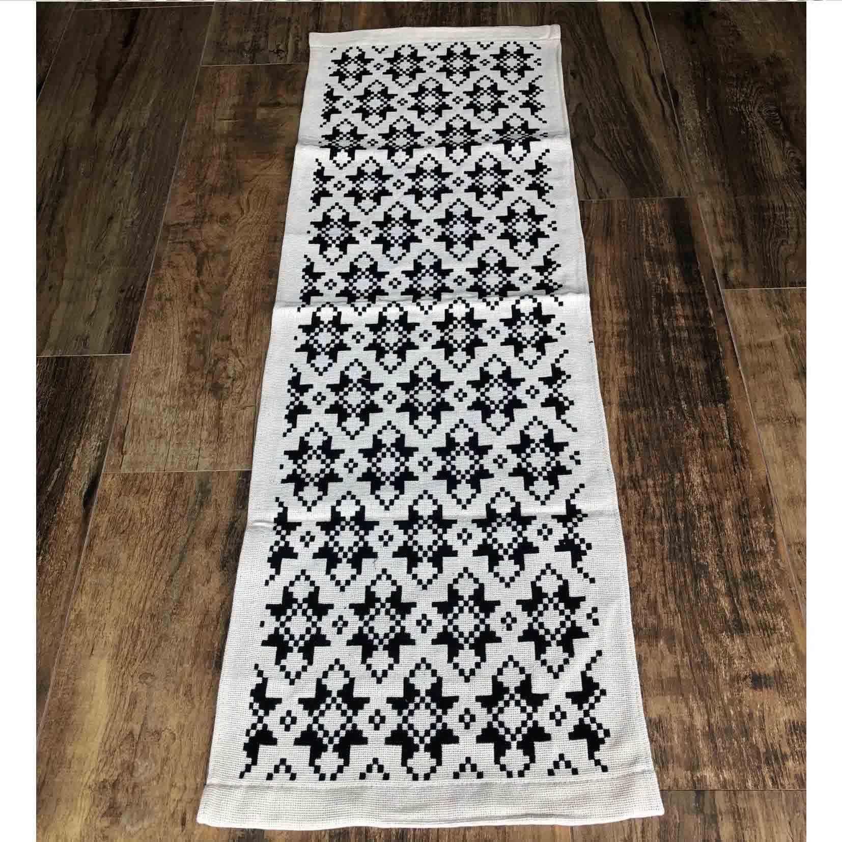 Passadeira Tear algodão Estrela 0,47 x 1,40 cm