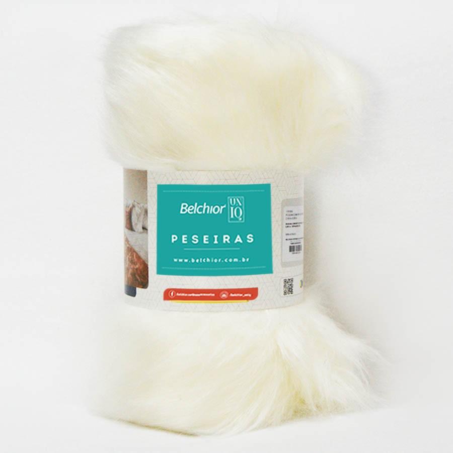 Peseira Confort Off White 2,5 x 0,80 cm