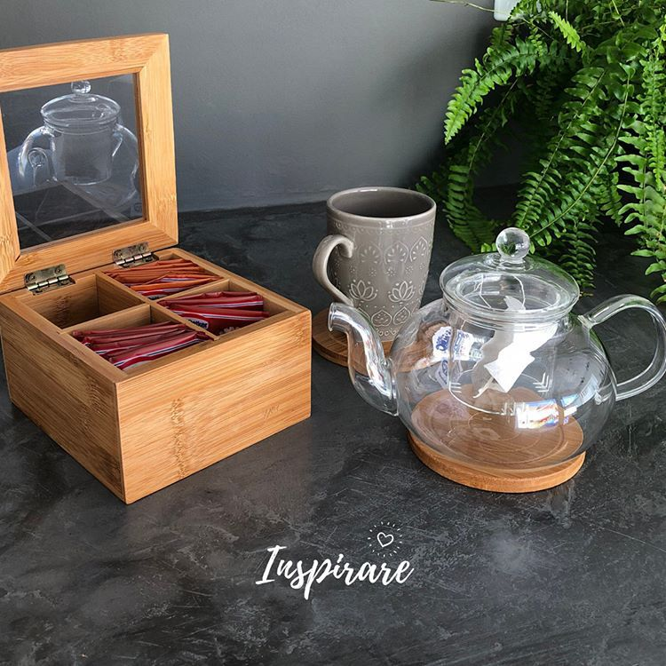 Porta Chá em Bambu Tyft - Yoi